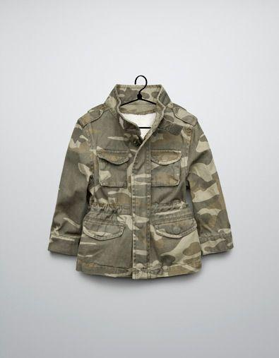 Baby jacke camouflage