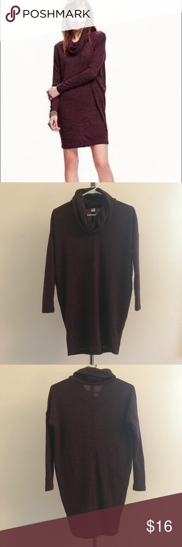 Old Navy Cowl Neck Sweater Dress | Cowl neck sweater dress, Cowl ...