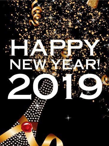 Frohes neues Jahr feiern - neujahr dekor #newyearwallpaper