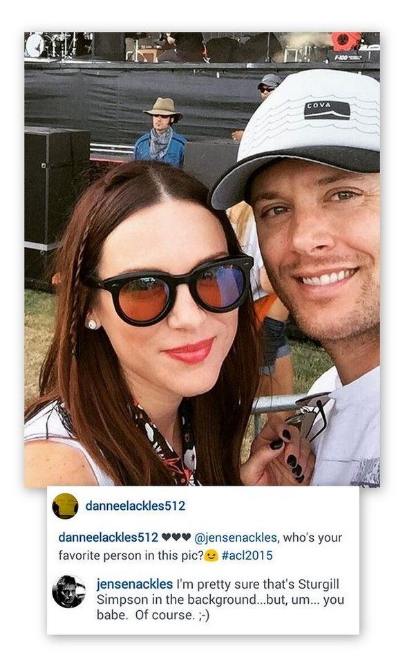 Jensen and Danneel cha...