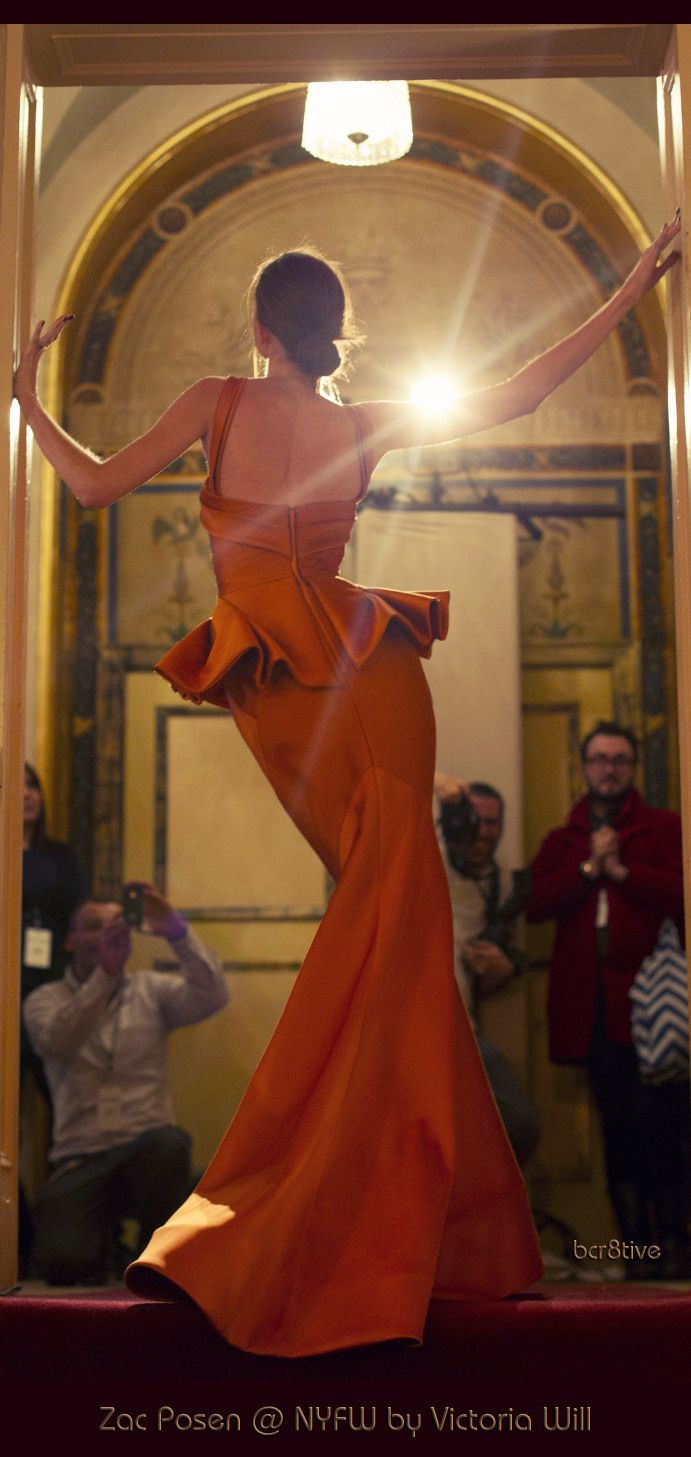 Zac Posen Behind the Scenes at New York Fashion Week -- by Victoria Will #NYFW