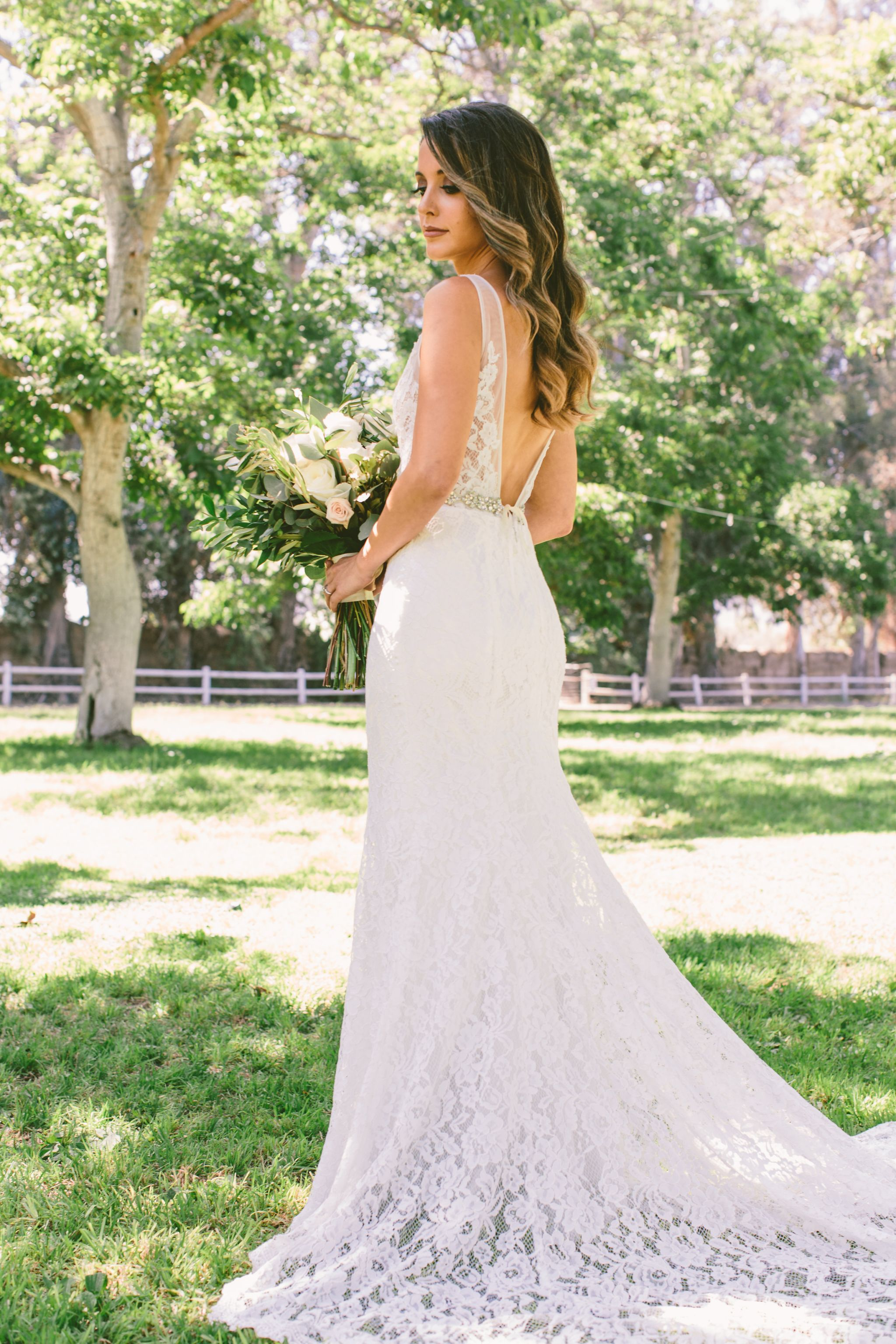 other made with love - frankie wedding dress | used, size