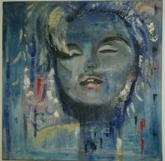 Peinture a l\u0027huile sur toile Lorens By Lorens Eco deco Pinterest - peinture bois et fer