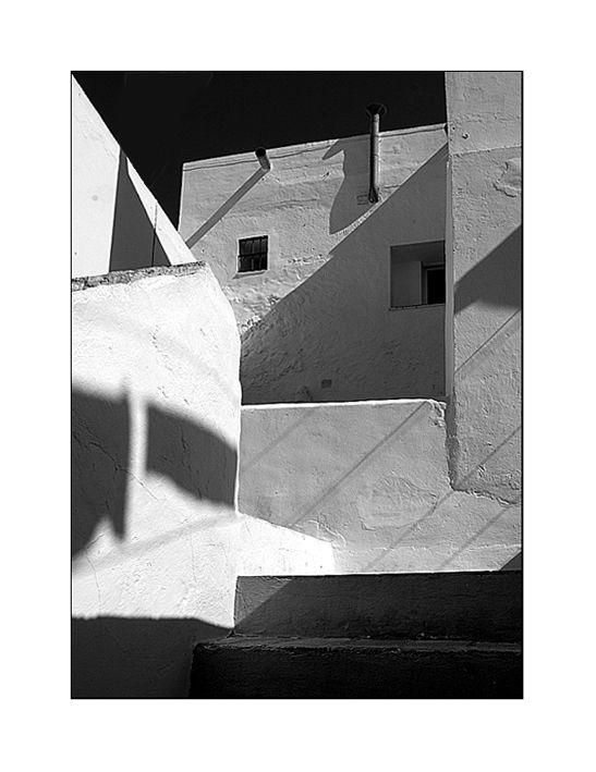 Andalusian shadows - Vejer de la Frontera, Cadiz