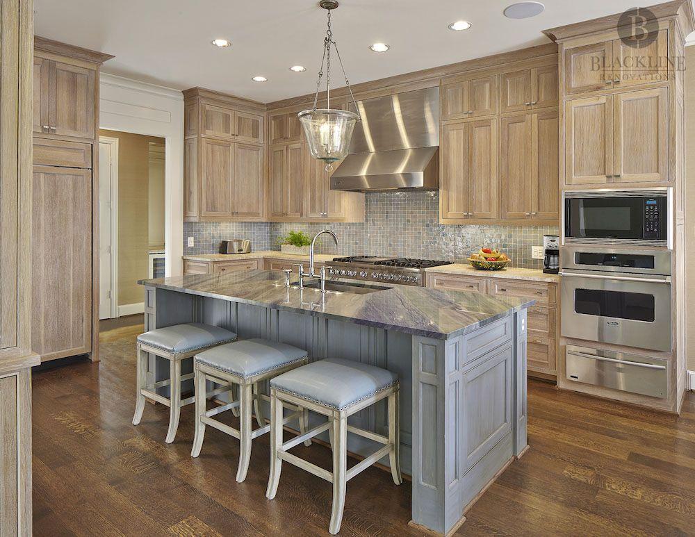Glendora Transitional Kitchen Remodel by Blackline ...