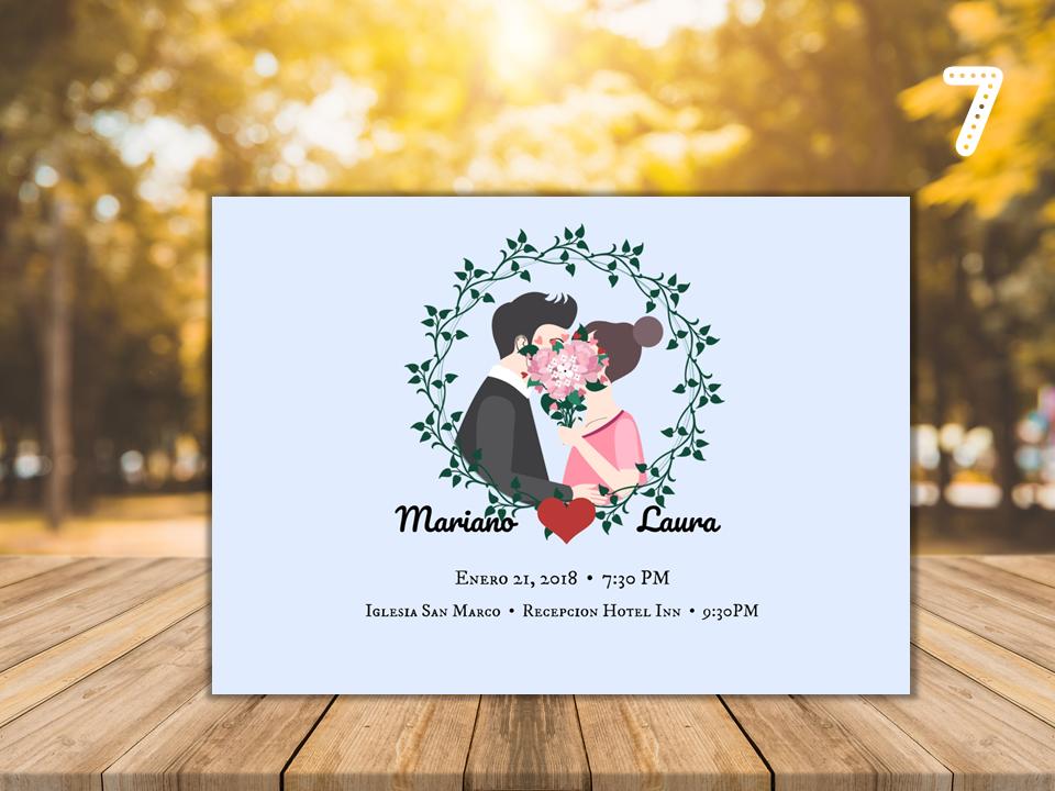 Invitación Digitales Imprimibles (… | Invitación Matrimonio by ...