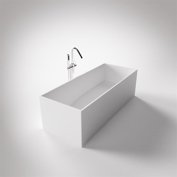 smalt badekar Fint smalt badekar i stramt design fra bad&stil   Ideer  smalt badekar