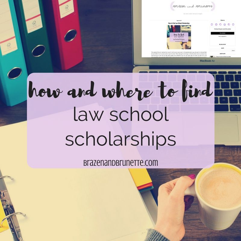 How To Find Law School Scholarships
