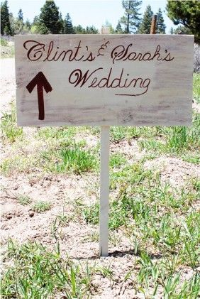Wedding Sign!
