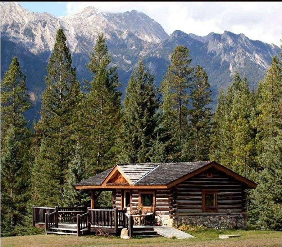 Pin von Marty Milne auf cabins | Pinterest | Holzhäuschen, Hütten ...