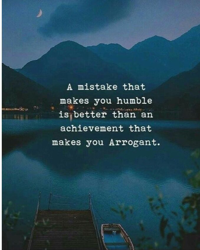 Why mistakes are better than achievements !