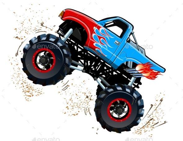Pin By Fayzbek Abdurahimov On Cartoons Cars In 2021 Monster Truck Art Monster Trucks Truck Art