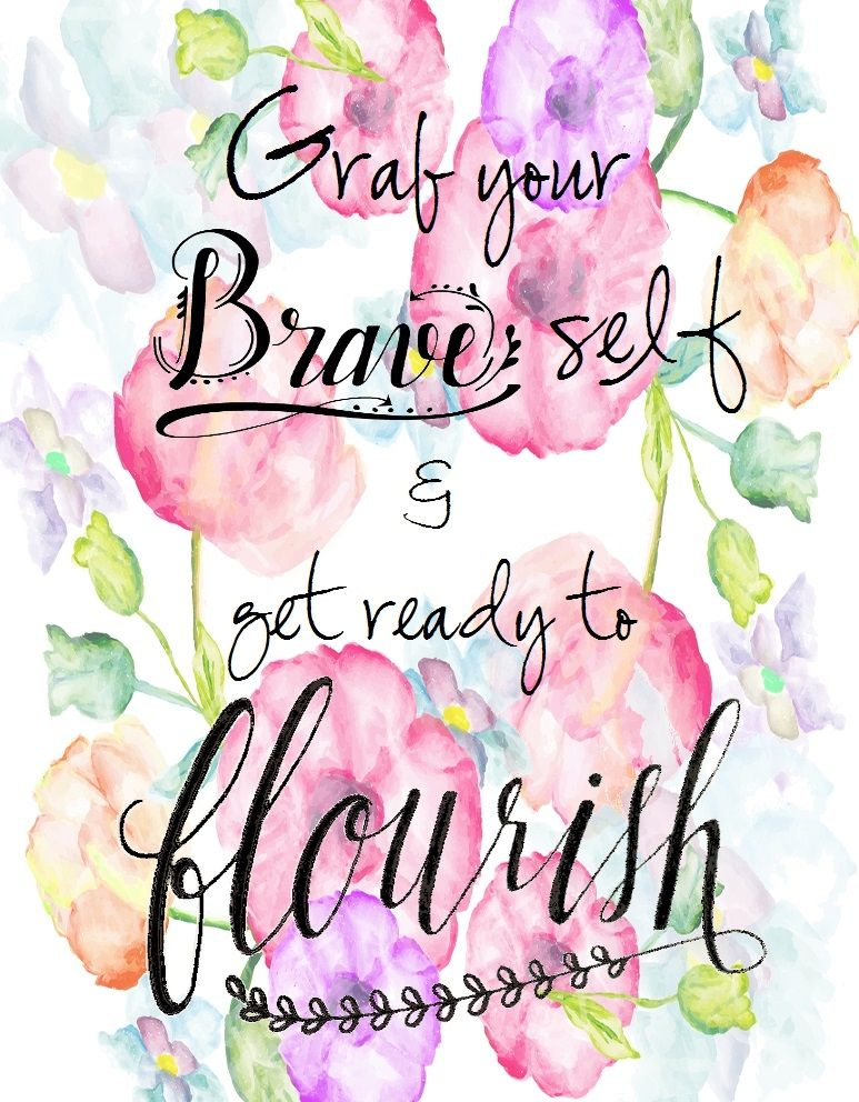 Grab Your Brave Self....Image