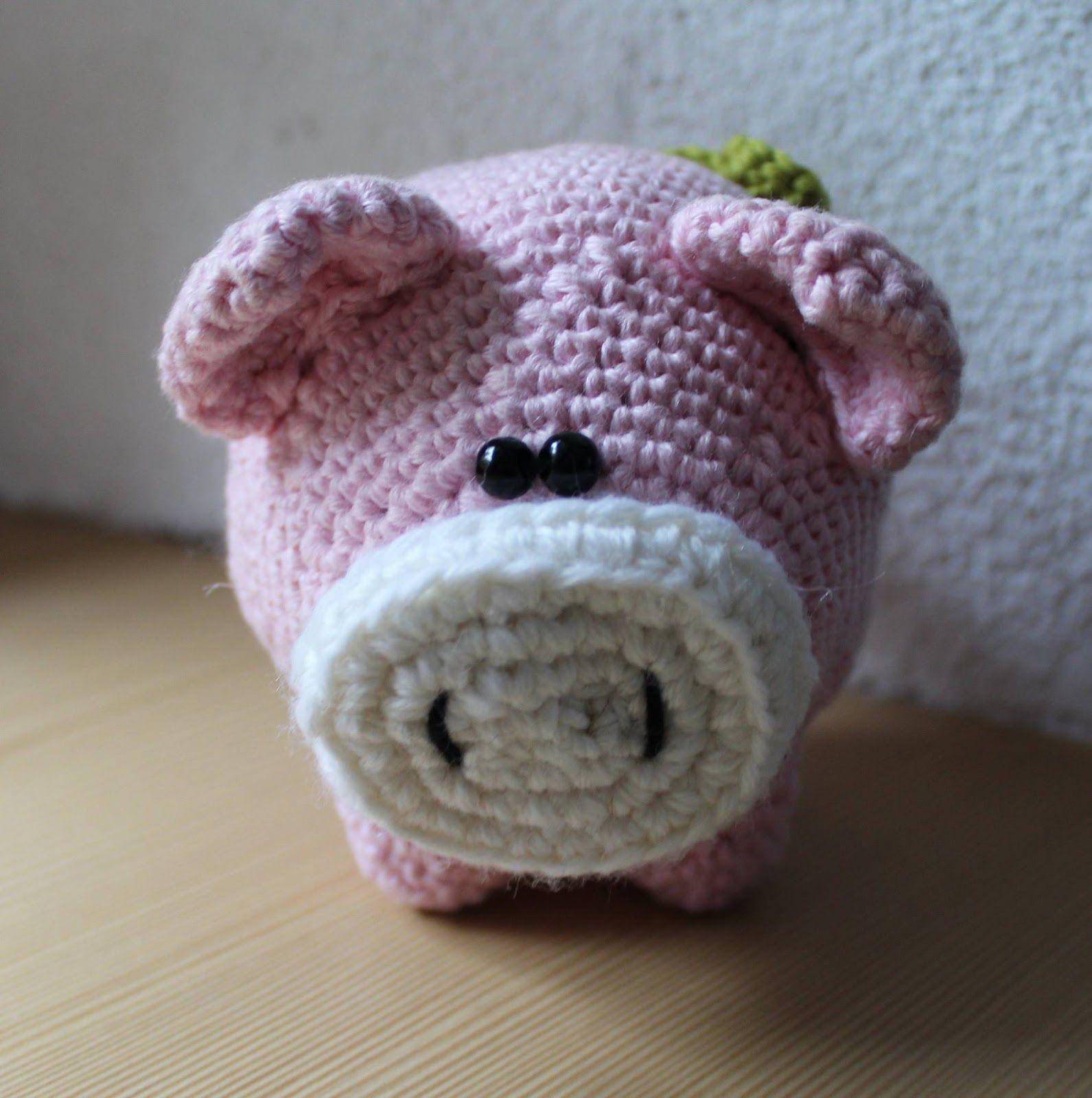 Fräulein Butterblume **: Glücksschweinchen :) ... | häkeln ...