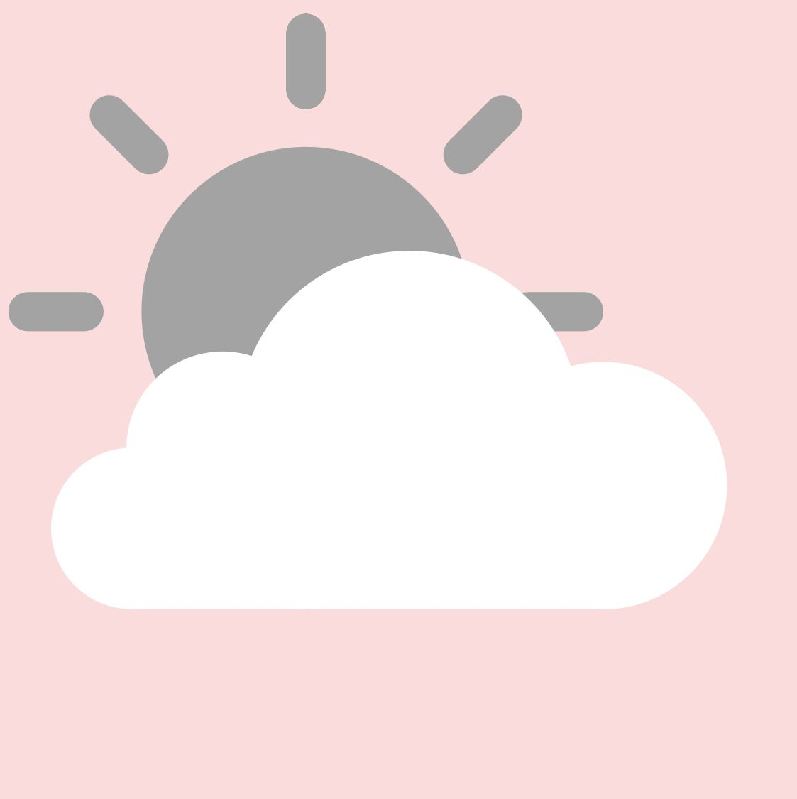 Pink Weather App Icon In 2020 App Icon Iphone Icon App