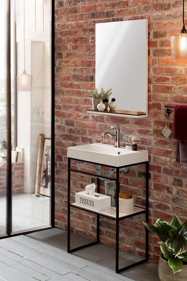 Design Badmobel Set Carando Mit Bildern Rustikales Design