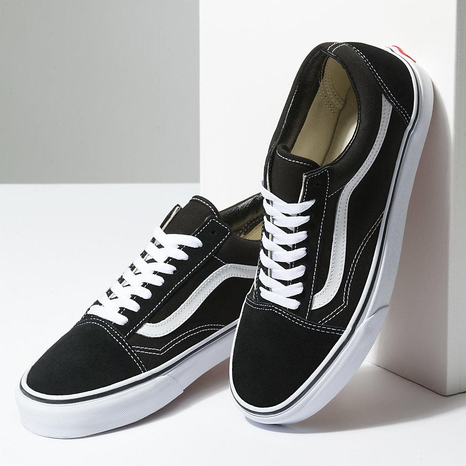 Details about Vans Old Skool Black Shoes Classic Canvas Suede VN000D3HY28