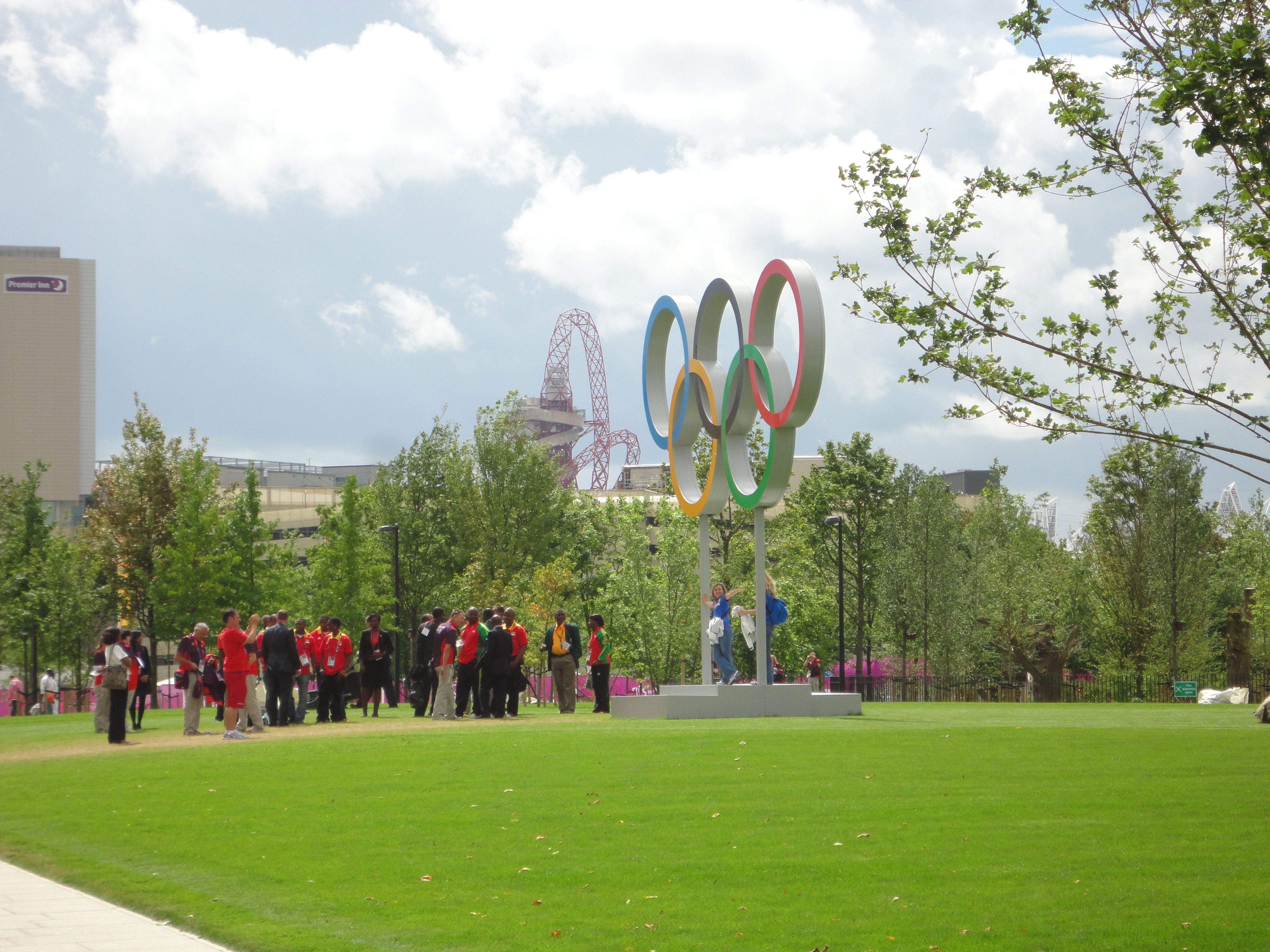 ALD at the Athletes Village during the 2012 games