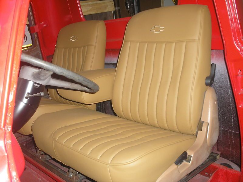 Vehicle Bench Seat ~ Custom bench seat for hot street rod made to order