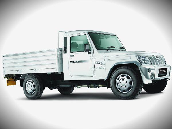 Mahindra Bolero Pick Up Flat Bed With Micro Hybrid Price