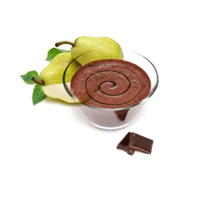 Hruškový dezert s čokoládou