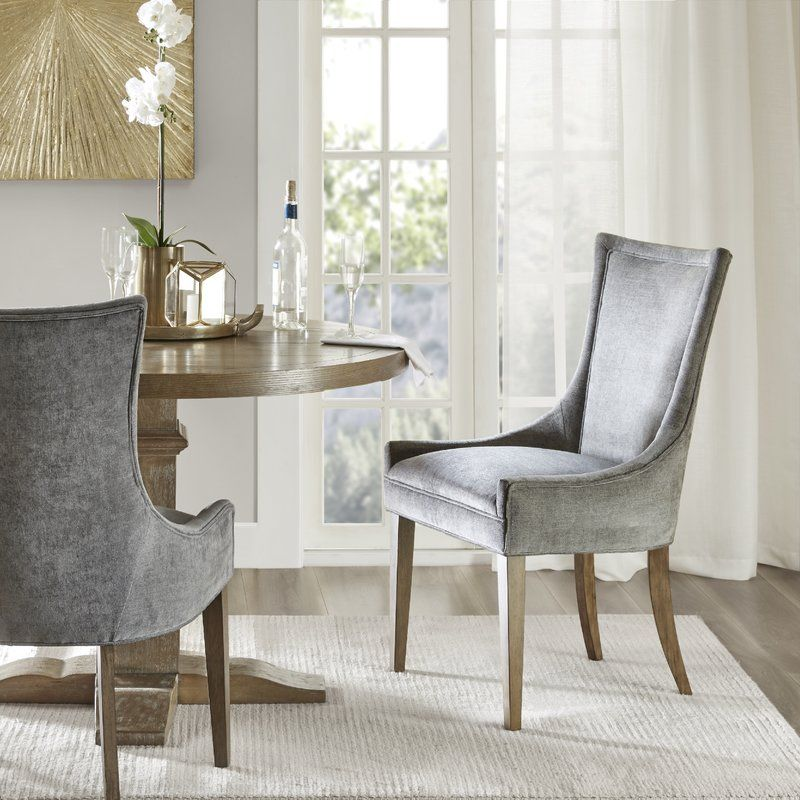 Ultra Upholstered Dining Chair in 2019 | Gray dining ...