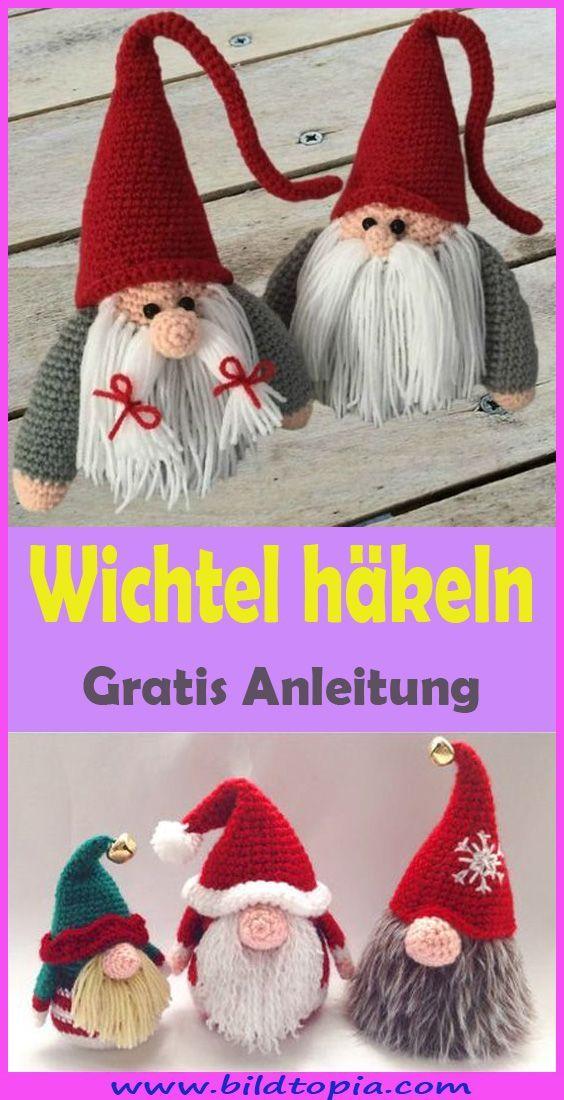 Photo of Wichtel häkeln – kostenlose & einfache Anleitung –  – #Anleitung #Einfache #H…