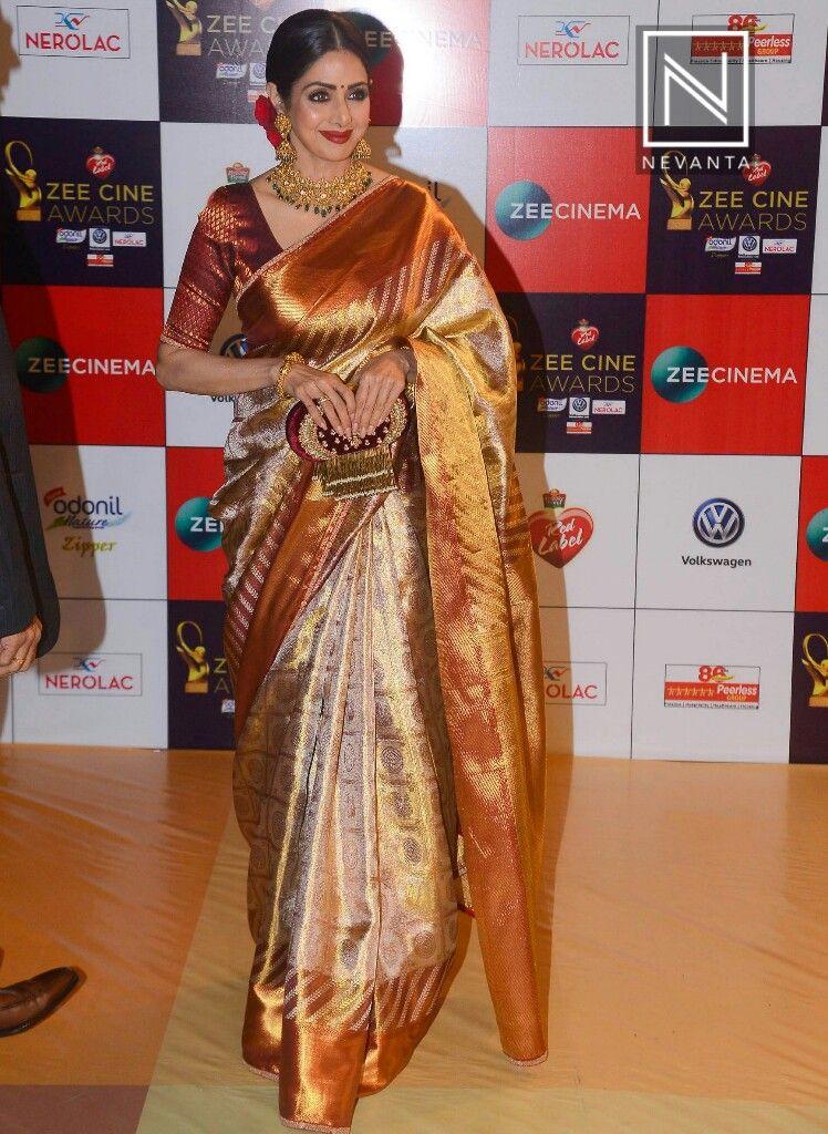 Remembering Bollywood Actress Sridevi Indian Saree Blouses Designs Saree Trends Saree Look