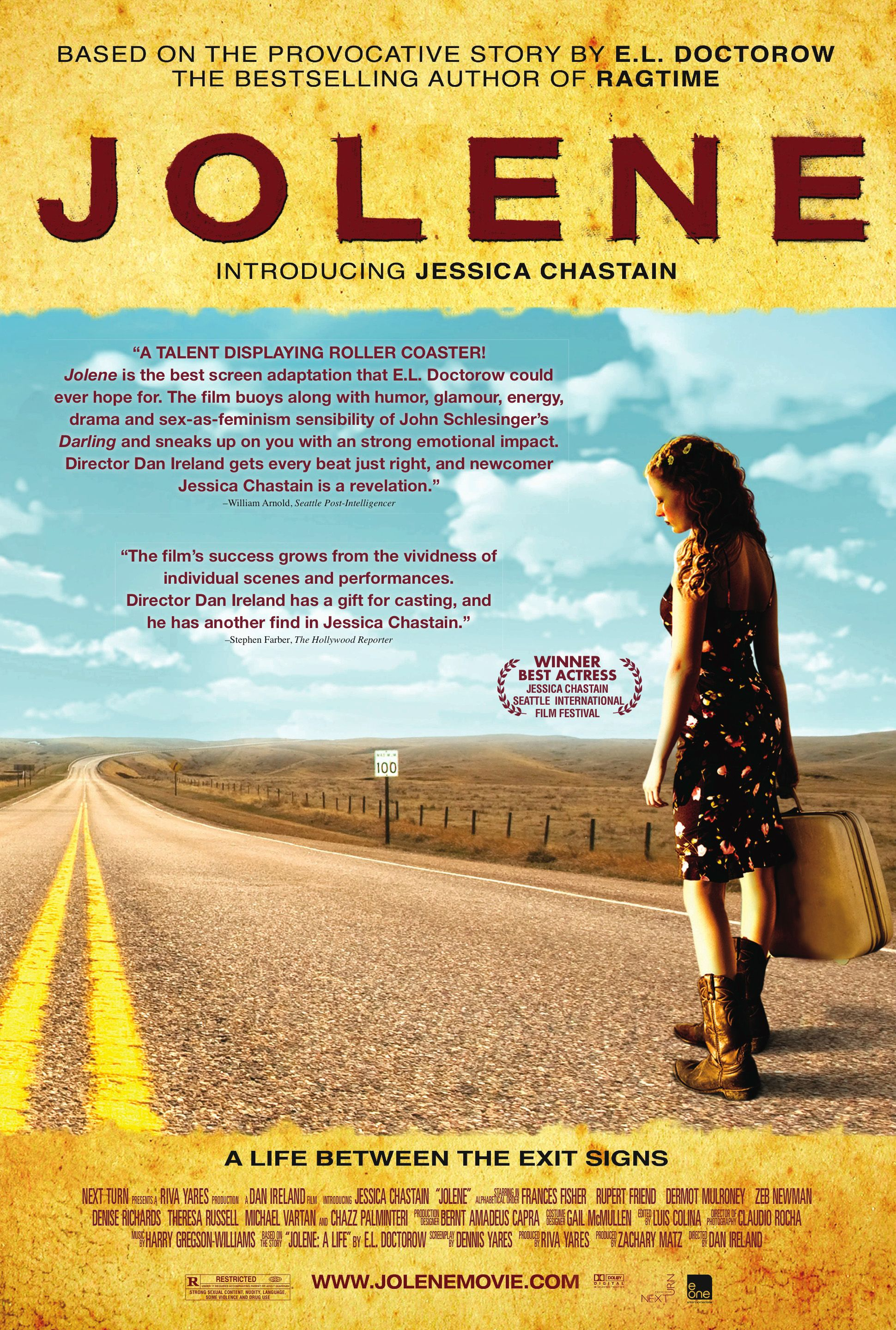 Exclusive Trailer and Poster for JOLENE Starring Jessica