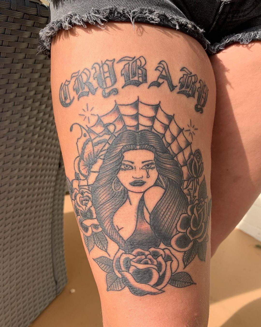 Thank you @ashley.tiffanyxo this was rad! #tattoo #tattoos #tattooing #tattooer #tattooist #tattooedgirls...