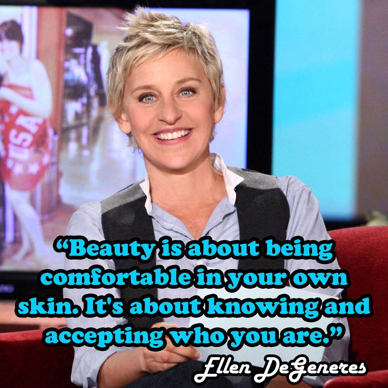 #Quotes | Fashion Quotes | Pinterest | Ellen degeneres ...