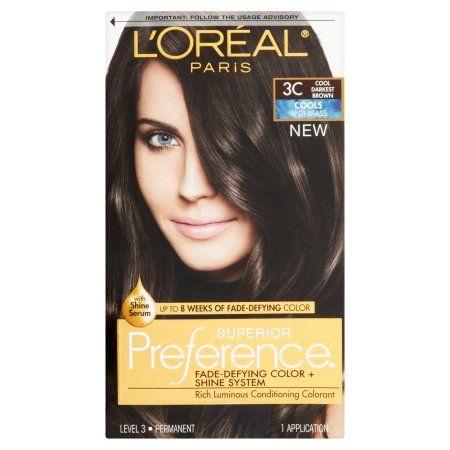 Beauty Loreal Paris Dark Burgundy Hair Hair Color