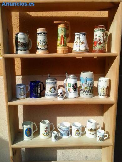 Lote de 18 jarras otras colecciones en alicant for Mobiliario jardin segunda mano