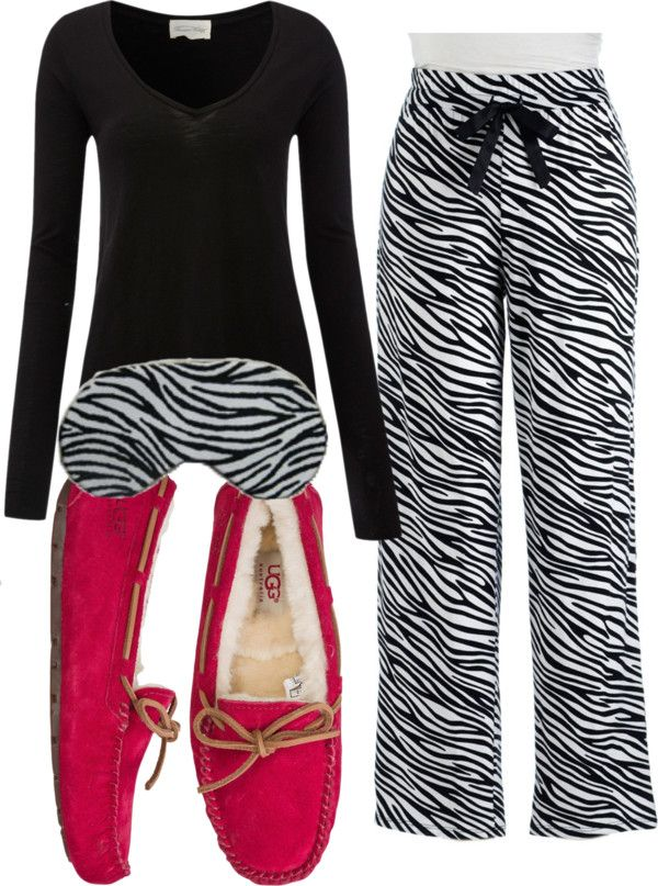 zebra pajamas and red slippers ~ hello winter women s slippers - http   amzn 87f422454