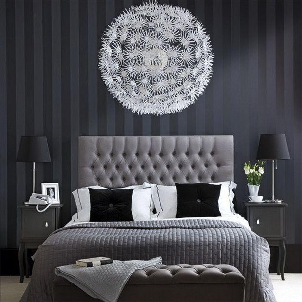 50 Modern Nightstands For A Luxury Bedroom Monochrome Bedroom Elegant Bedroom White Bedroom