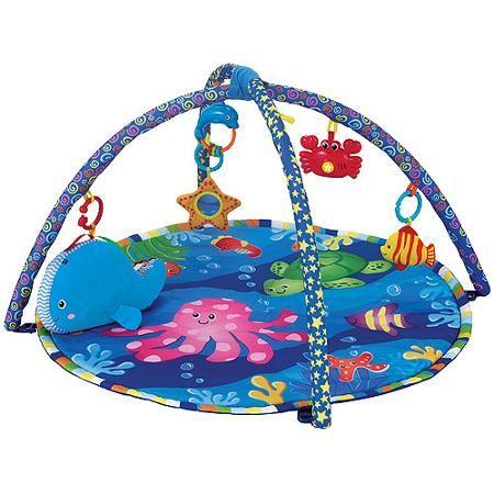 Brilliant Beginnings Neptune S Play Mat Walmart Com Baby Activity Play Mat New Baby Products Baby Play Mat