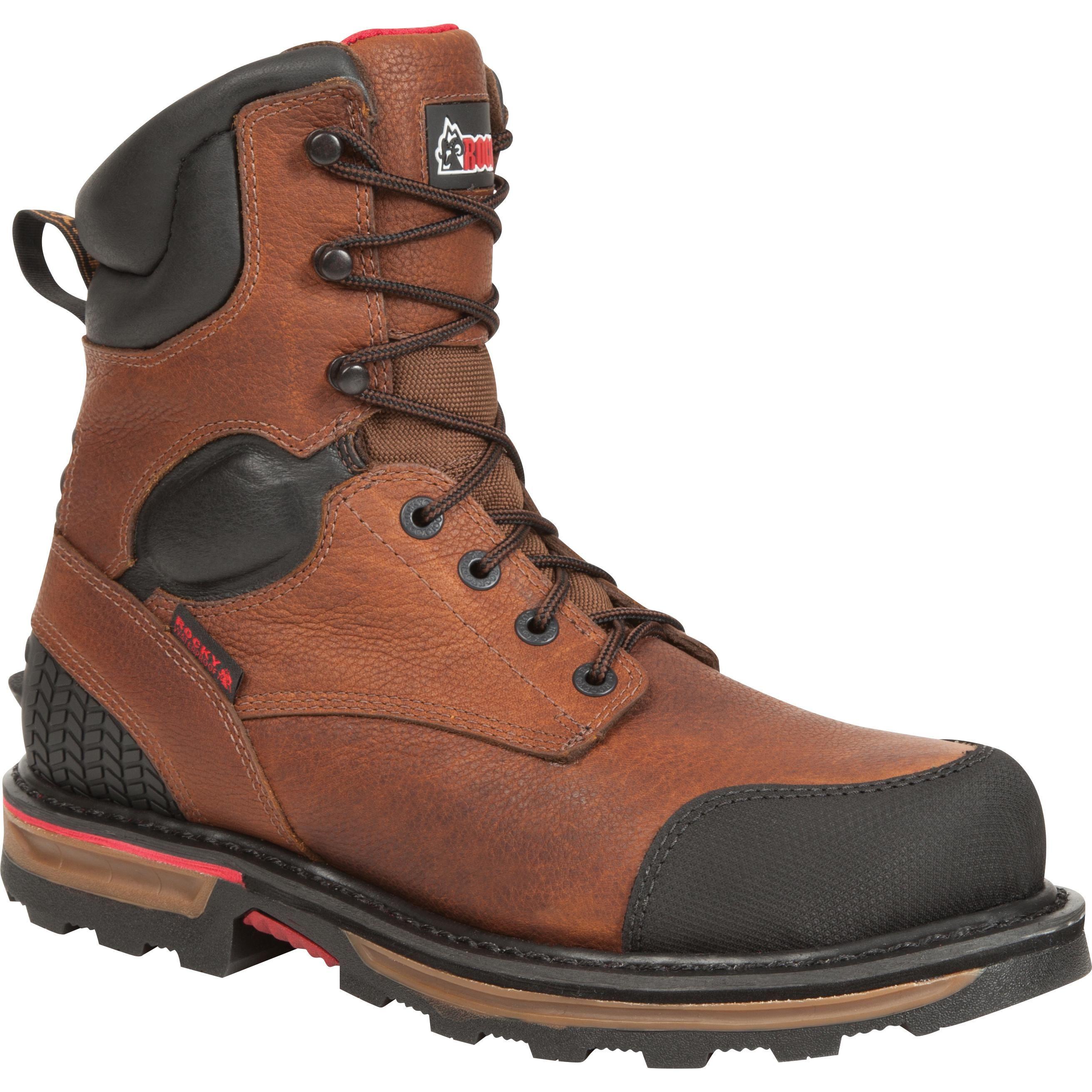 Rocky Elements Dirt Steel Toe Waterproof Work Boot Steel Toe