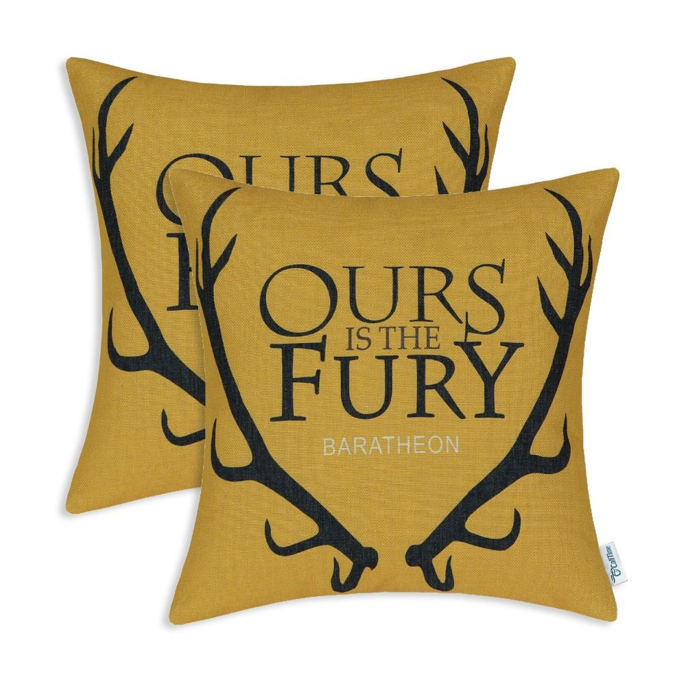 Set calitime cushion cover decorative throw pillow shell a game of
