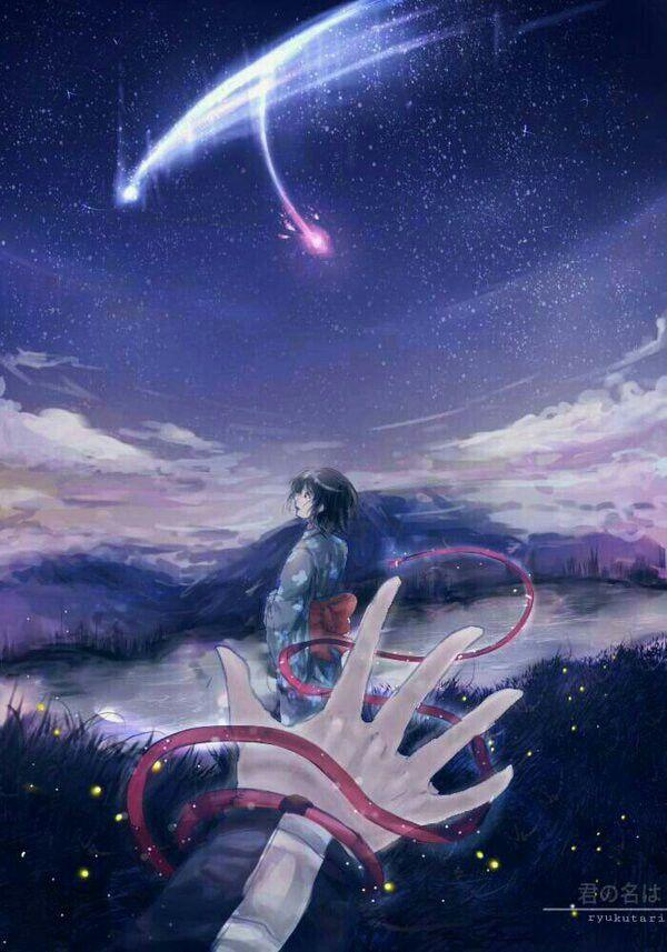 Mitsuha & Taki('s hand) - Kimi no na wa
