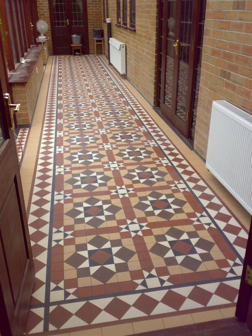 Victorian floor tiles gallery original style floors for Flor flooring