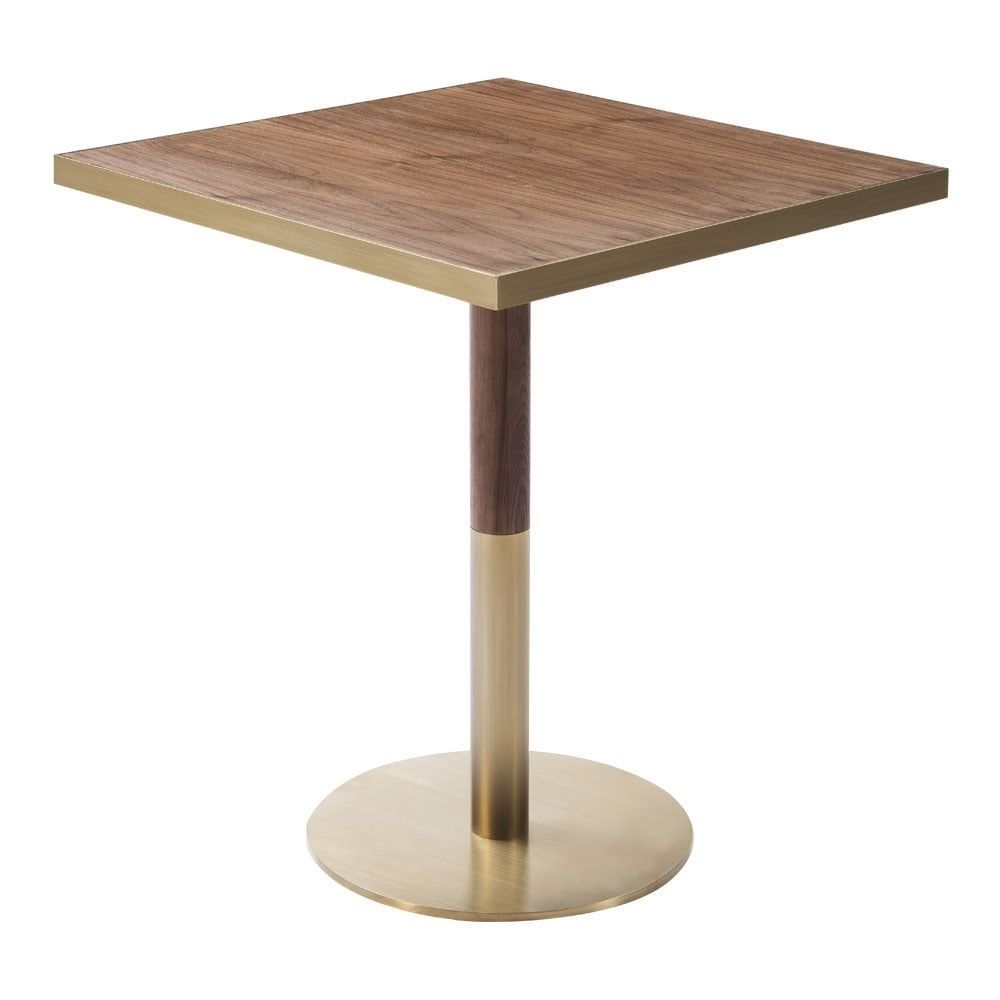 Table Raleigh Round Caf Table With Squa In 2020 With Images Cafe Tables Restaurant Table Design Classy Furniture