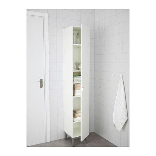 LILLÅNGEN Mobile alto con 1 anta - bianco - IKEA