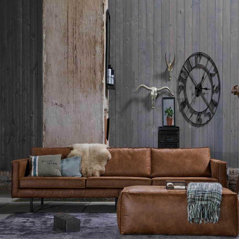 Couch Aus Recyceltem Leder Cognac Braun Moebel Liebe Com Ledersofa Gestaltung Kleiner Raume Innenarchitektur Wohnzimmer
