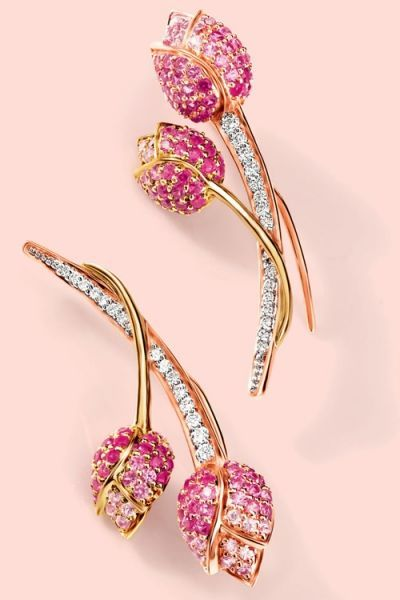 Tanishq Niloufer Lotus Collection Jewelry