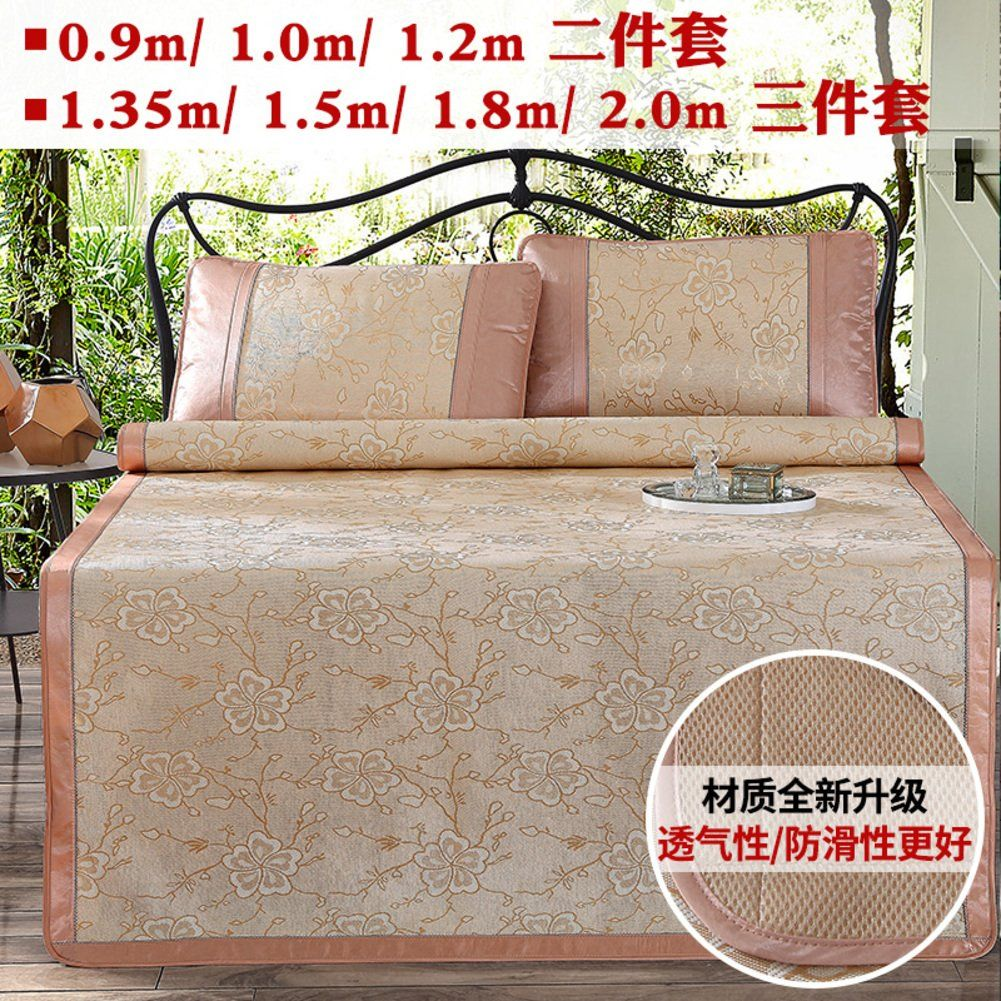 QINQIN Air conditioning Summer matFold threepiece 1.8m bed