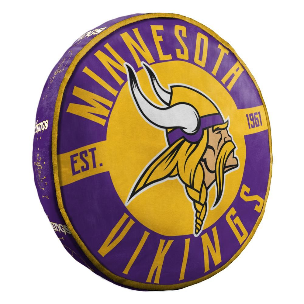 The Northwest Company 15 in. Vikings Multi Color Polyester