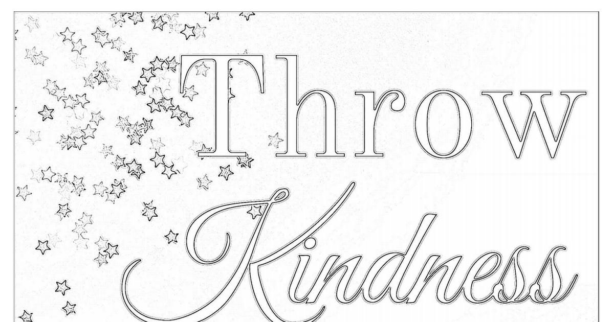Confetti Kindness Coloring Page Pdf Cool Coloring Pages Coloring Pages Coloring Sheets