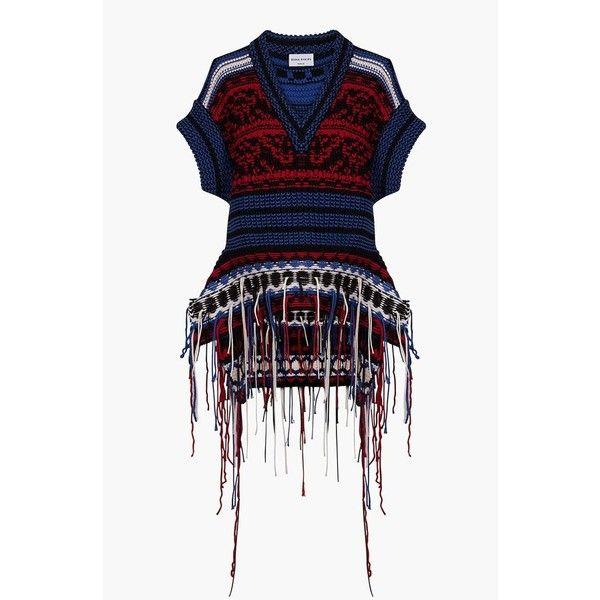 Jacquard-knit Sweater - Blue Sonia Rykiel Footlocker Finishline Online Online Cheapest rdGnhrDVs6