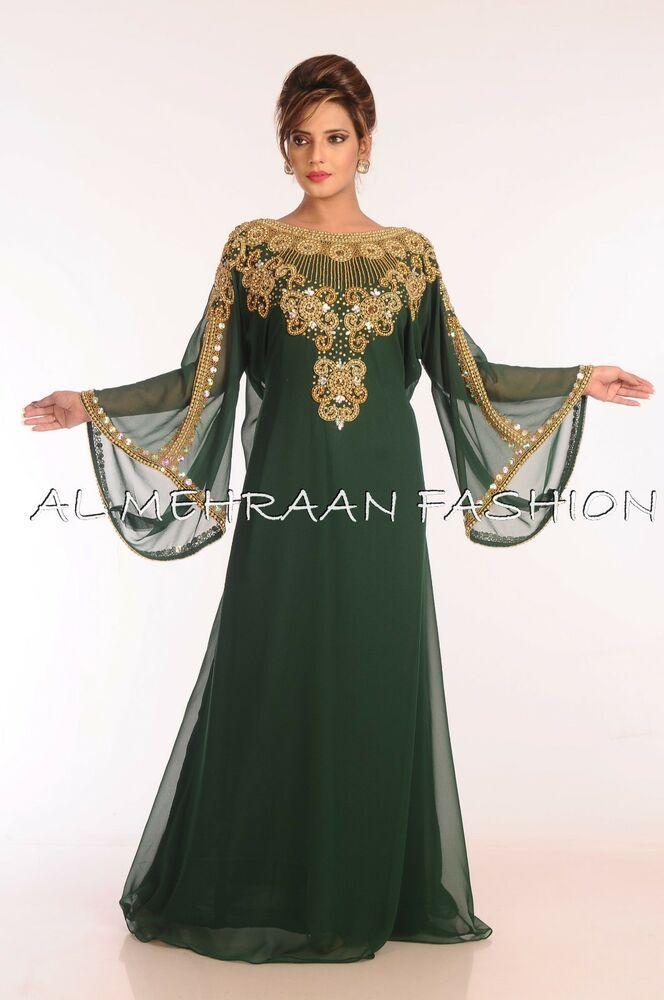 NEW DUBAI MODERN MOROCCAN KAFTAN ARABIAN ISLAMIC FOR WOMEN