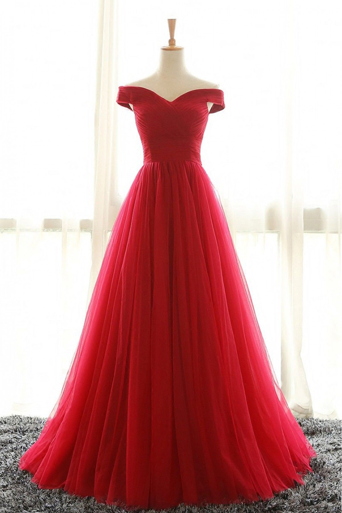Youdesign cotton silk tulle gown in red colour size upto outfit